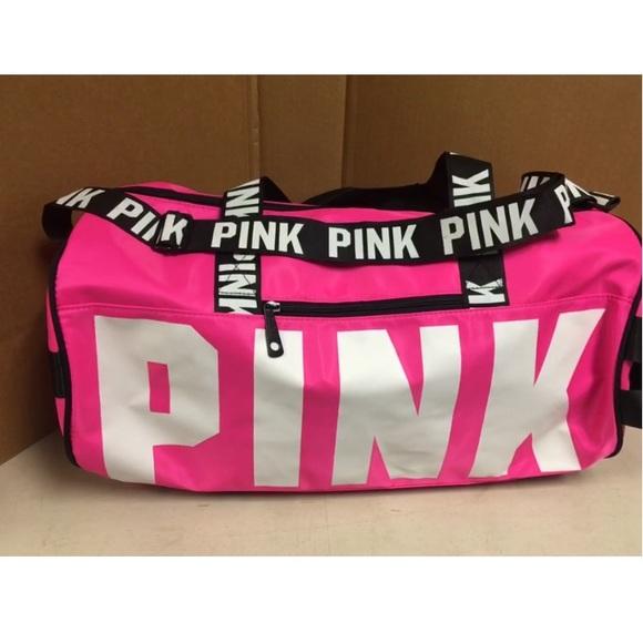 e9d1136ca9 Victoria s PINK Sport Tote Bag Large VS Gym Duffel